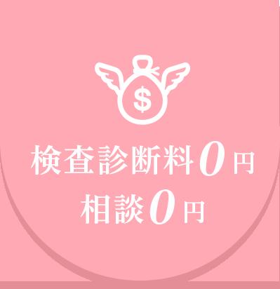 検査診断料0円 相談0円